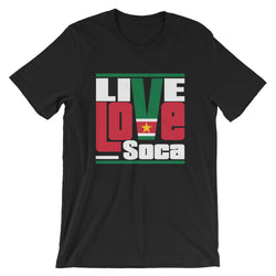 Suriname Islands Edition Mens T-Shirt - Live Love Soca Clothing & Accessories