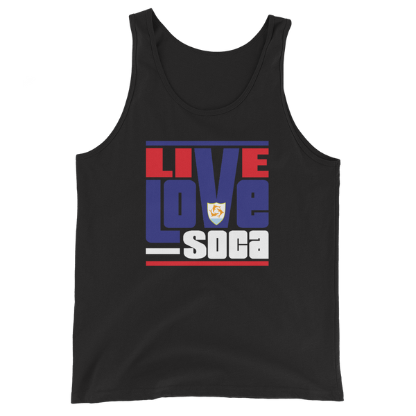 Anguilla Islands Edition Mens Tank Top - Live Love Soca Clothing & Accessories