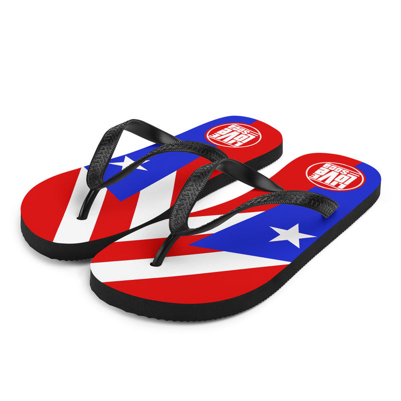Island Puerto Rico Flip Flops - Live Love Soca Clothing & Accessories