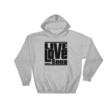 Grey LLS Men's Hoody - Live Love Soca Clothing & Accessories