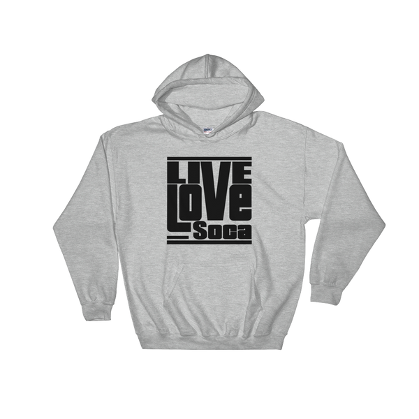 Grey Men's Hoodie - Live Love Soca Clothing & Accessories