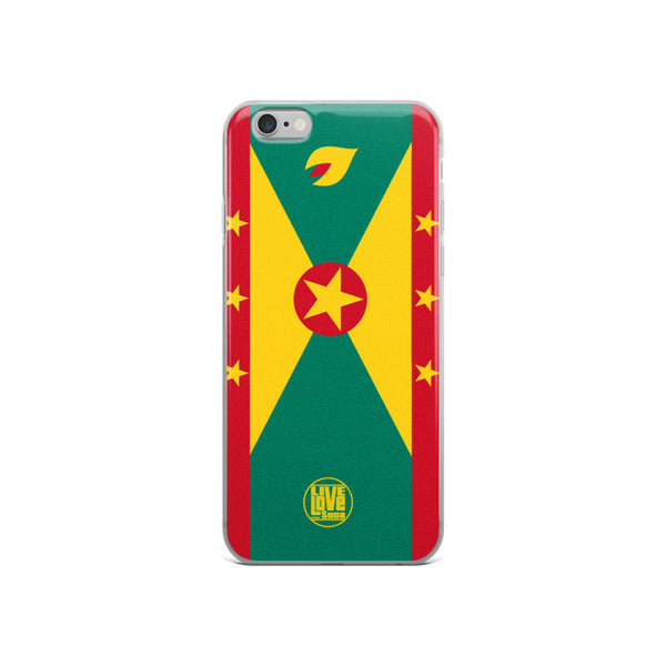 Grenada iPhone Phone Cases - Live Love Soca Clothing & Accessories