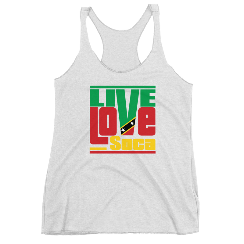 Saint Kits & Nevis Islands Edition Womens Tank Top - Live Love Soca Clothing & Accessories