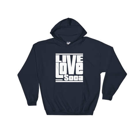 Navy Blue LLS Men's Hoody - Live Love Soca Clothing & Accessories