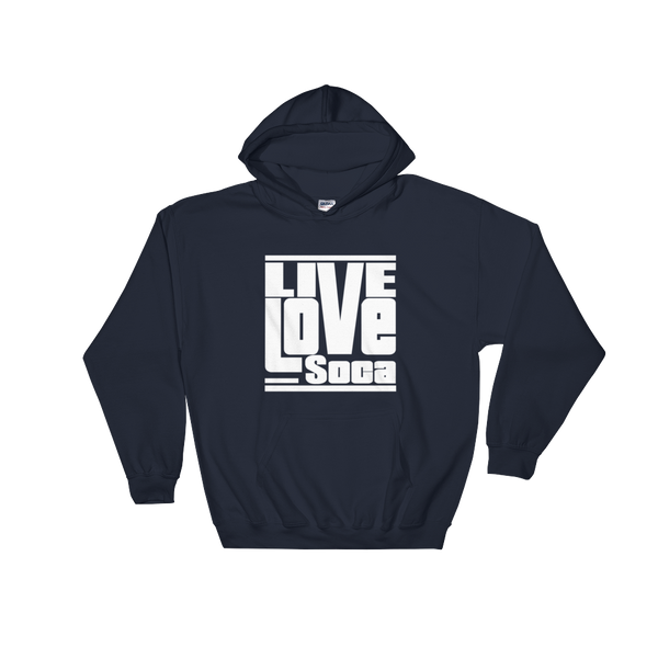Navy Blue Men's Hoodie - Live Love Soca Clothing & Accessories