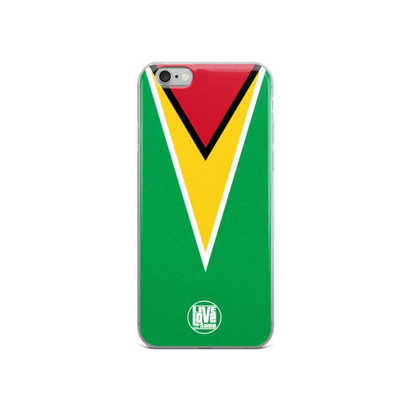 Guyana iPhone Phone Cases - Live Love Soca Clothing & Accessories