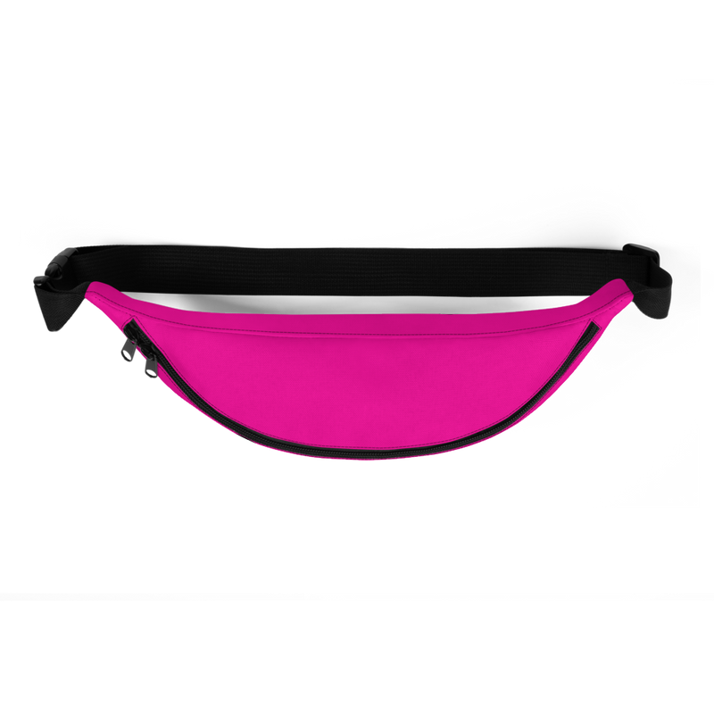 Soca Is Life Pink - Black Waist Bag - Live Love Soca Clothing & Accessories