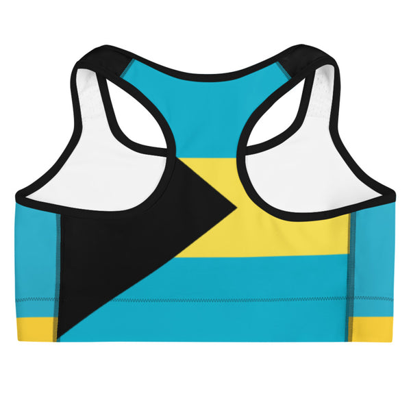 Island Active Bahamas Sports Bra - Live Love Soca Clothing & Accessories