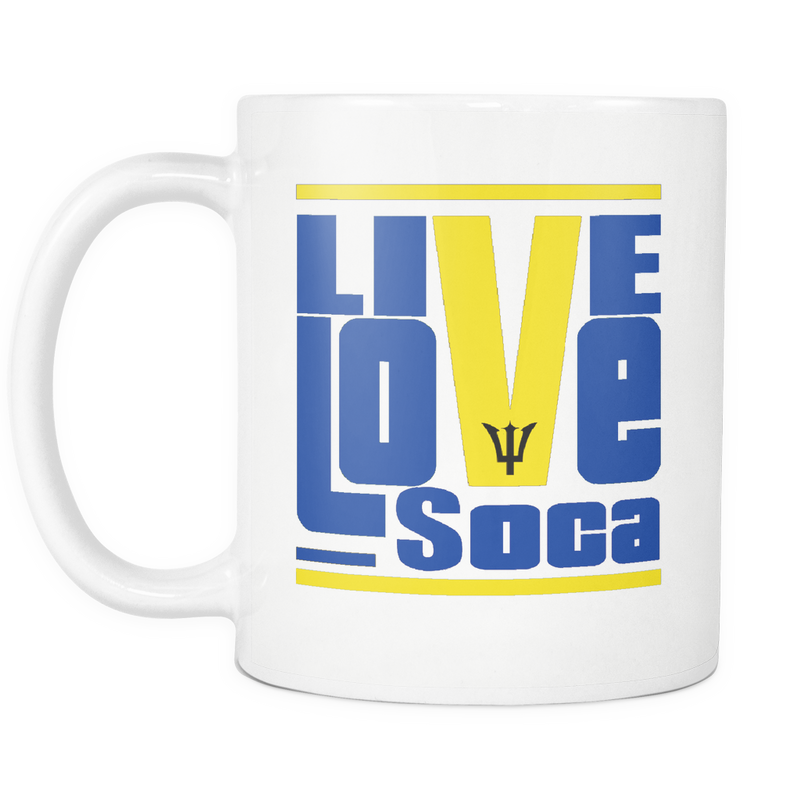 BARBADOS MUG - Live Love Soca Clothing & Accessories