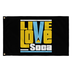 ST. LUCIA FLAG - Live Love Soca Clothing & Accessories