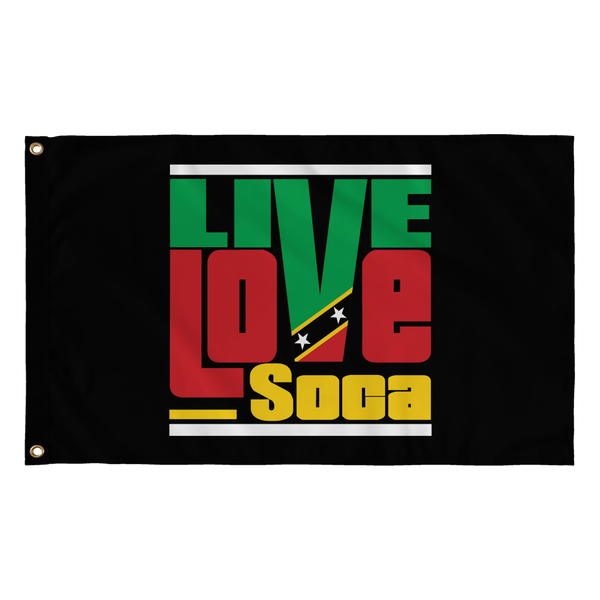 ST. KITTS & NEVIS FLAG - Live Love Soca Clothing & Accessories