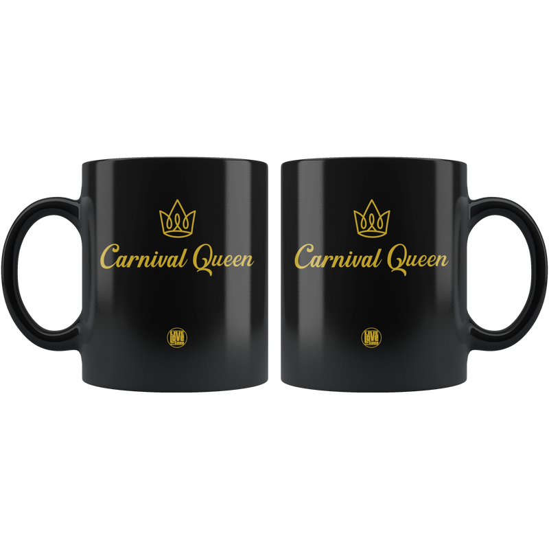 CARNIVAL QUEEN MUG (Designed By LLS & ICQ) - Live Love Soca Clothing & Accessories