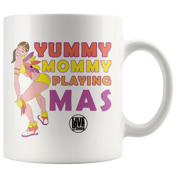 YUMMY MOMMY PLAYING MAS (US) (Designed By Live Love Soca) - Live Love Soca Clothing & Accessories