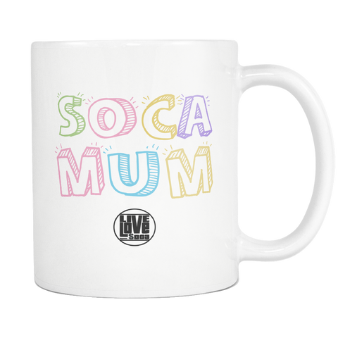 SOCA MUM MUG (Designed By Live Love Soca) - Live Love Soca Clothing & Accessories