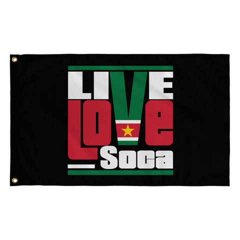 SURINAME FLAG - Live Love Soca Clothing & Accessories