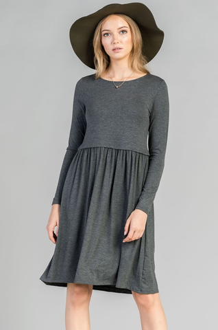 Easy Dress - Grey