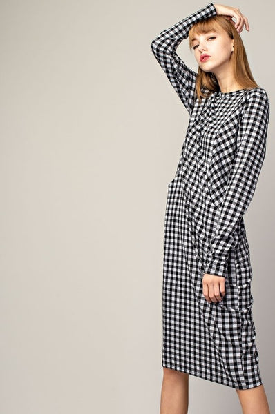 Gingham Pocket Dress