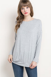 Most basic top - Grey