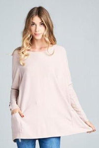 Oversized Sweater - Dusty Pink