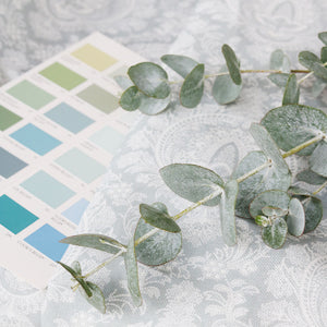 Highcliffe Linen Fabric - Sea Glass - Meg Morton