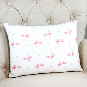 "French Daisy Cushion - Limoges Pink 16"" x 12"" - Meg Morton"