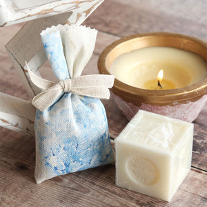 Hydrangea Lavender Soap Set - Paris Blue - Meg Morton