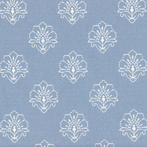 Jhansi Fabric - Country Blue - Meg Morton