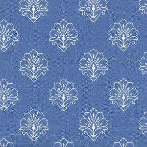 Jhansi Fabric - Indian Blue - Meg Morton