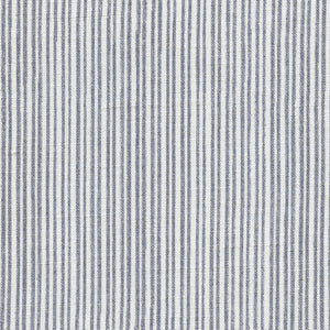 Studio Stripe Linen Fabric - Flint