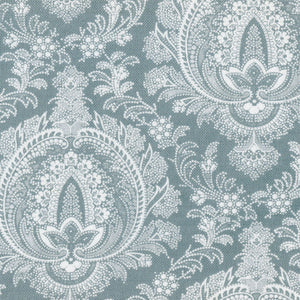 Highcliffe Linen Fabric -Large - Winter Garden - Meg Morton