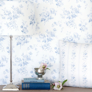 Adelaine Wallpaper- Loire Blue - Meg Morton