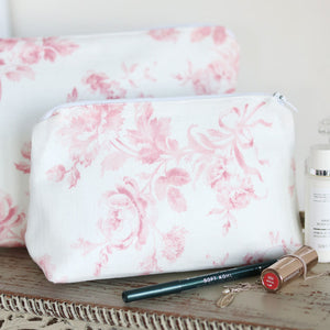 Adelaine Make Up Bag - Cheverny Pink - Meg Morton