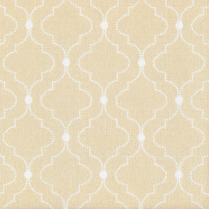 Chalbury Fabric - White On Harvest