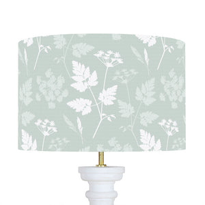 Duckegg Cow Parsley Lampshades