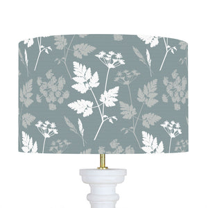 Summer Lane Cow Parsley Lampshade - Soft Teal