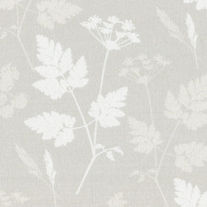 Summer Lane Cow Parsley Linen Fabric -Somerset Stone - Meg Morton