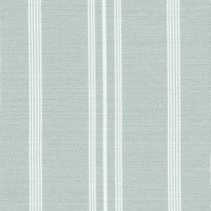 Devon Stripe Linen Fabric - River Mist - Meg Morton