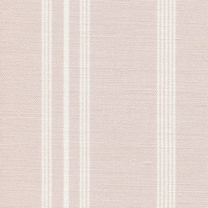 Devon Stripe Linen Fabric - Rothesay Rose - Meg Morton