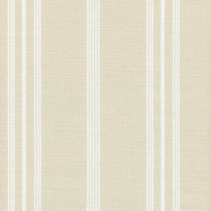 Devon Stripe Linen Fabric - King's Oriel - Meg Morton