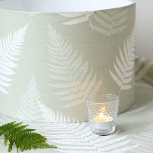 Thorncombe Fern Fabric - Soft Moss - Meg Morton