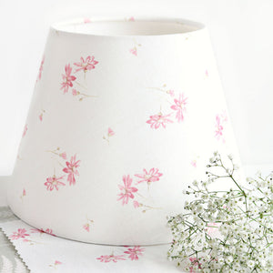 French Daisy Lampshade - Limoges Pink - Meg Morton