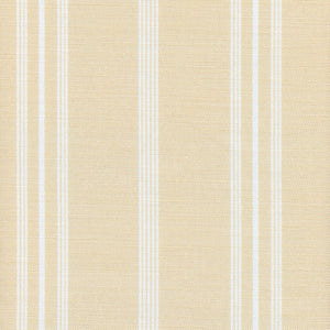 Devon Stripe Linen Fabric - Harvest - Meg Morton
