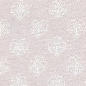 Jhansi Fabric - White On Rothesay Rose