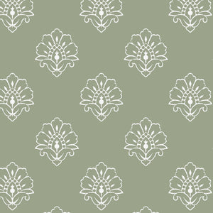 NEW Jhansi Wallpaper- Woodland Sage