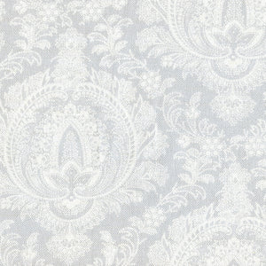 Large Highcliffe Linen Fabric - Pale Grey