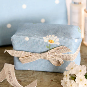 Fabric-covered French Soap - Meadow Daisy - Meg Morton