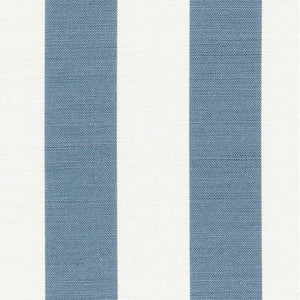 Seaspray Wide Stripe - Harbour Blue - Meg Morton
