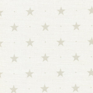 Starlight Fabric- Millstone On White - Meg Morton