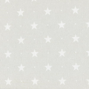 Starlight Fabric- White On Millstone - Meg Morton