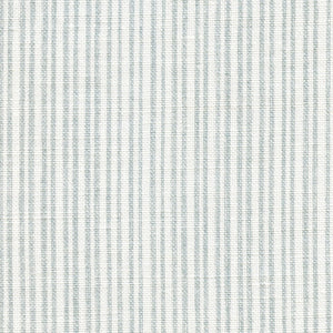 Studio Stripe Linen Fabric - Heron's Egg - Meg Morton
